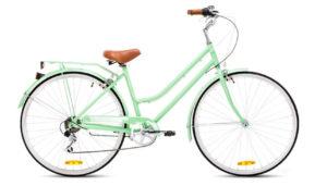Bici holandesa verde